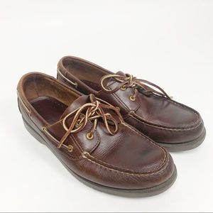 Rockport | Leather Boat Loafers